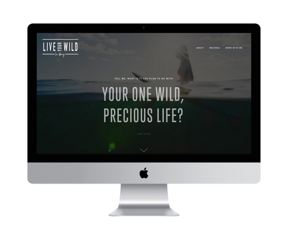 Live your Wild: Web Design + Copywriting