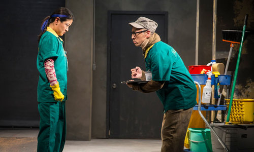 Francis Jue in The World of Extreme Happiness at The Goodman Theatre