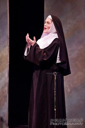 Jessica Bowers as Mother Abbess in The Sound of Music - Anchorage Opera