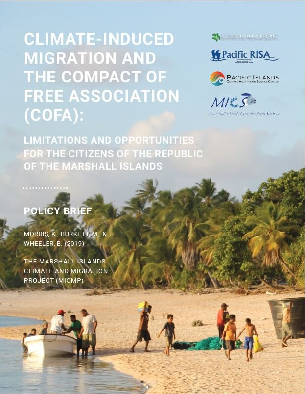 Cofa Policy Brief Marshall Islands Climate Migration Project