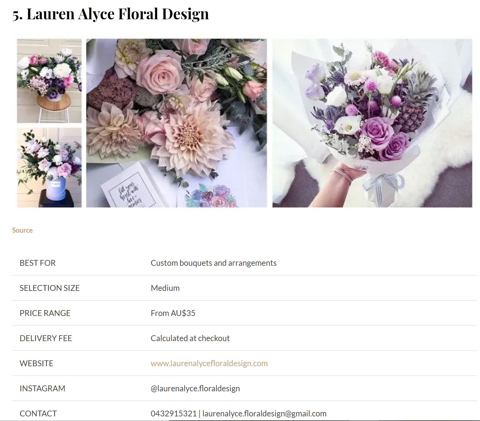 Best Flower Delivery Reviews - Voted in the top 7 on the Central Coast!Visit site here