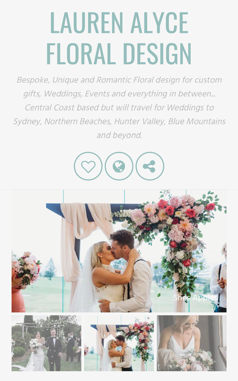 Wedlockers - LAFD is featured alongside some incredible wedding stylists and florists on the Wedlockers website.Check it out here