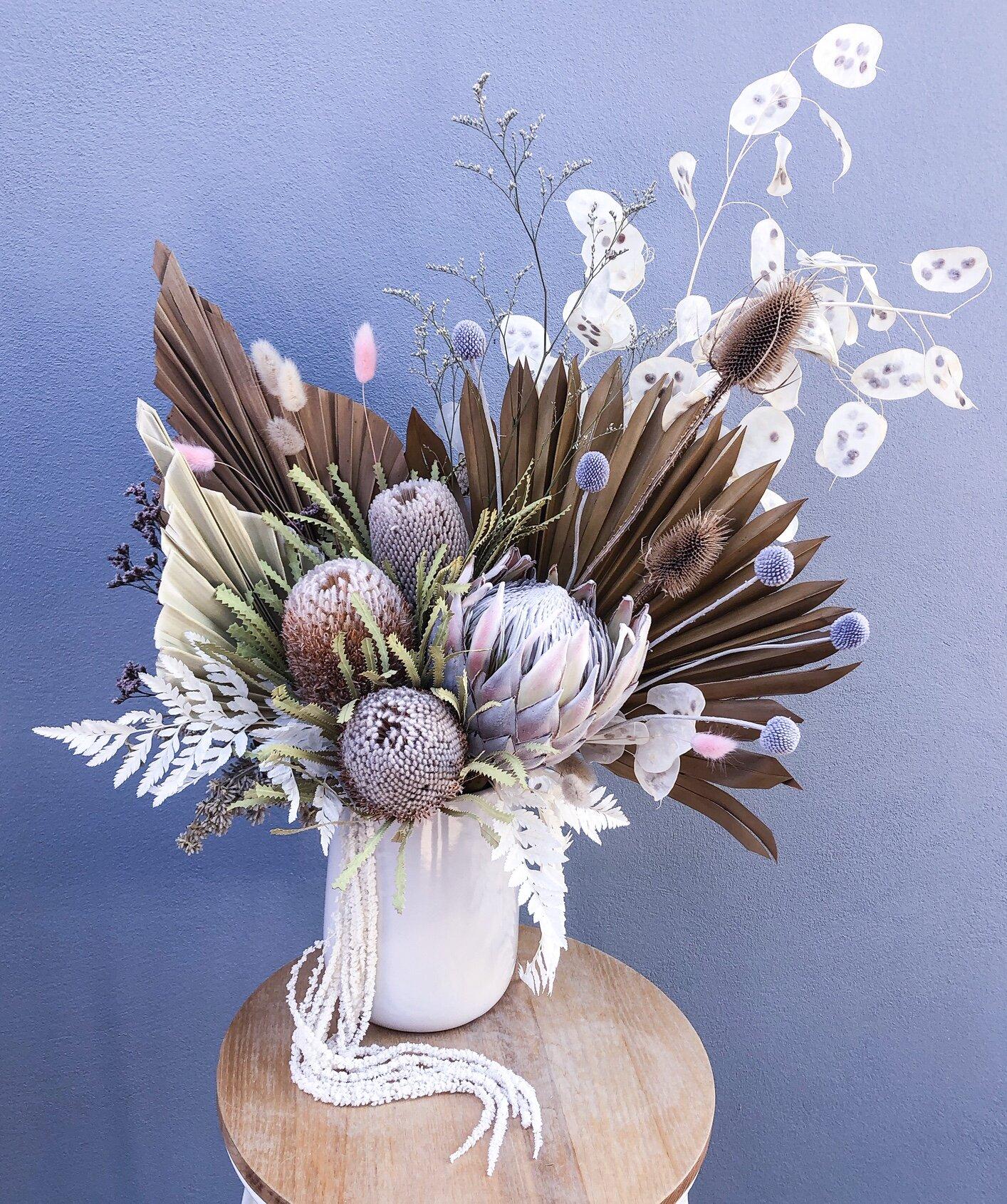 Everlasting Vase Arrangements Lauren Alyce Floral Design