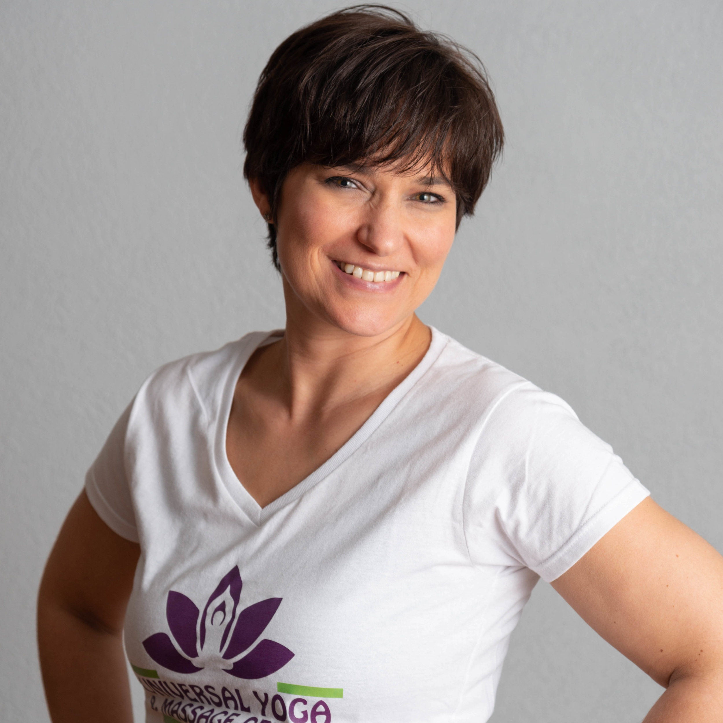 Audrey Ventura, LMT, C-IAYT, E-RYT - Audrey Ventura is a New York State Licensed Massage Therapist, a Nationally Certified Medical Massage Therapist, and the owner of Universal Yoga and Massage Center. She has over 20 years of experience in Massage Therapy. She is also a Certified Yoga Therapist through the International Association of Yoga Therapists, a Phoenix Rising Yoga Therapist, and certified in Yoga for the Low Back. Audrey's specific certifications include medical massage, geriatric massage, neuromuscular massage, sports massage, therapeutic stretching, neuromuscular reeducation, orthopeodic evaluation, and specific treatment for the neck, jaw, upper back, lower back, pelvis, legs, shoulders & arms. She is also certified in the Jaffe-Mellor Technique.Audrey is committed to helping you heal and maintain your health. She is continually educating herself and bringing that information into her business to give you the best results. Her great knowledge of the body and her experience give her the ability to assess and change your treatment or yoga practice whenever needed. She welcomes the opportunity to earn your trust and deliver you the best service in the industry.