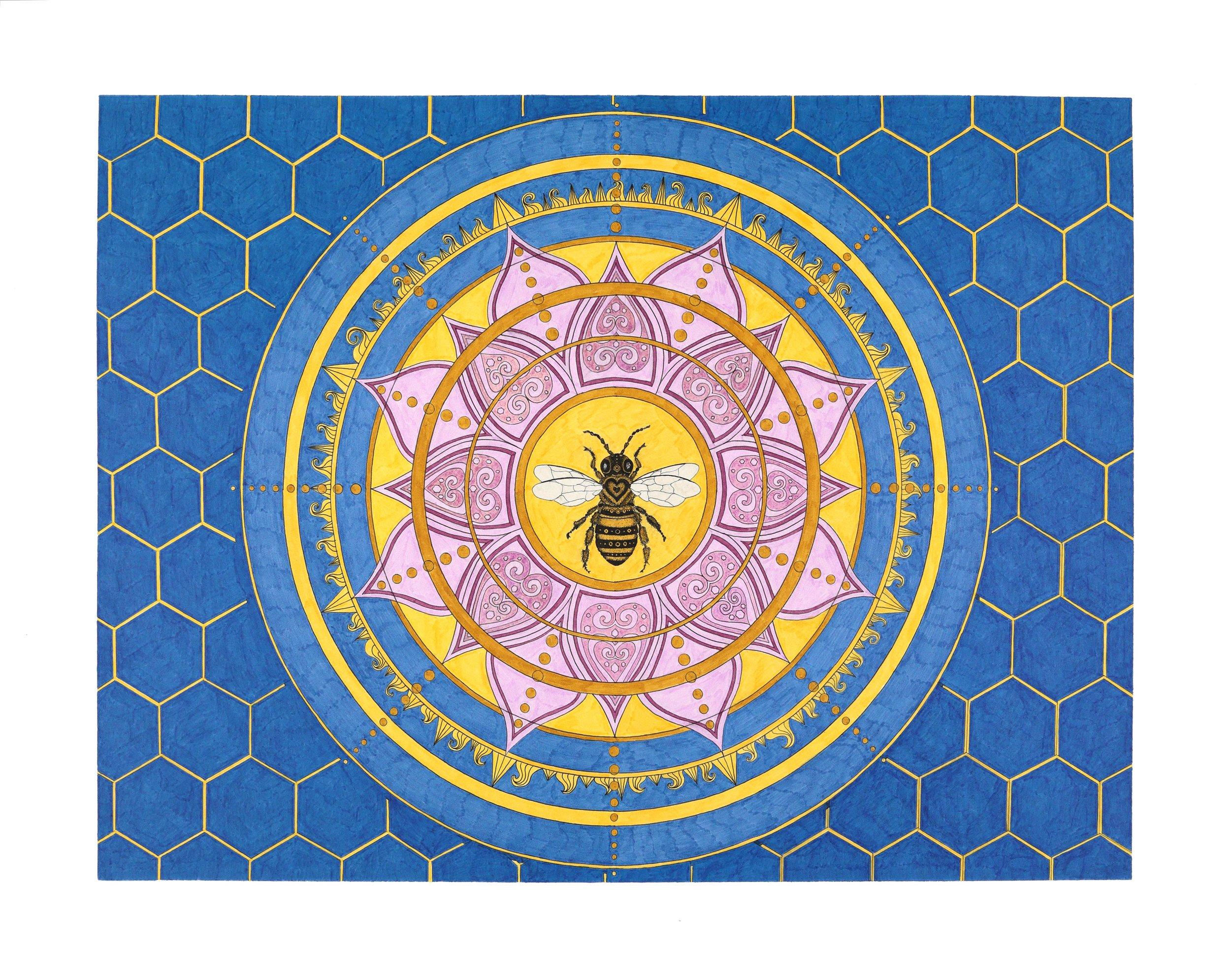 Aiyana Deyoung Bee Mandala.jpg