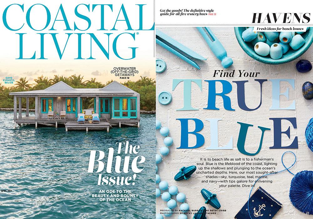 ARCHITECTURE DIGEST  Find your True Blue  April 2017