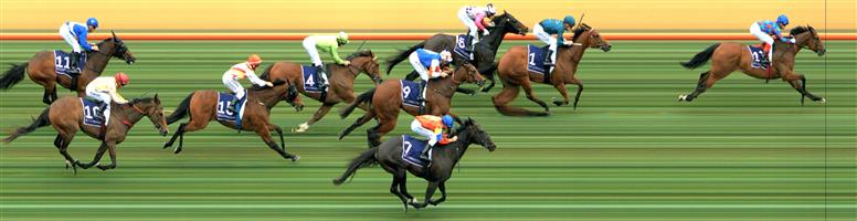 Flemington Race 5 No.7 Akkadian @ $8.50 (almost at our price, if it was $8 outlay: 0.67)   Result:  Non Qualifier - 4th at SP $8.50.  Flemington Race 5 No.12 Egyptian Gold @ $8 (0.67 UNIT WIN) - watch price   Result:  Unplaced at SP $5.50. Settled in third, three wide. Under pressure from the turn, found nothing and dropped back through the field. Outcome -0.67 Units.