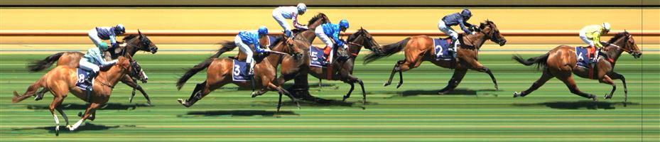 Flemington Race 2 No.6 Social Spin @ $4 (1.5 UNITS WIN)   Result: 1st  at SP $3.80, Best Tote $3.90, Betfair $4.06. After missing the start did join the main pack after a couple hundred meters and settled midfield. Come with a big burst off the turn and seemed to hit a flat spot with 100m to go but still hanged on to win by about a length. Outcome +6.00 Units