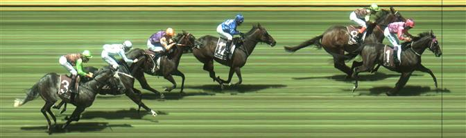 Sandown Race 4 No.9 True Gent @ $7 (0.84 UNIT WIN)   Result : 4th at SP $7.50. Ran home nicely for 4th, one of few horses to make ground from the back though never really sighted as a winning chance. Outcome -0.84 Units