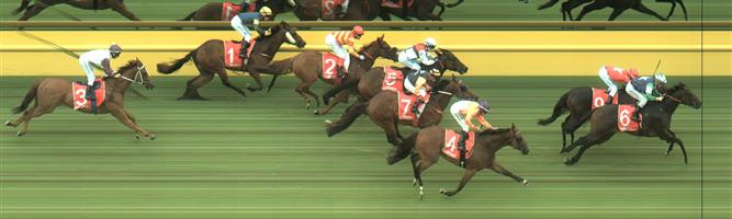 CAULFIELD Race 3 No. 7 Kaplumpich @ $3 (1.5 UNITS WIN)   Result : 4th at SP $3.20. Settled around midfield and while under some pressure did respond but was no match for the winners despite given every chance, going down by a few lengths. Outcome -1.50 Units.  CAULFIELD Race 3 No. 9 More Bricks @ $7 (0.84 UNIT WIN)   Result : 2nd at SP $6.50. Went forward and settled in the one one position. Straightened up in the clear and hit the lead with about 100m to go before being grabbed on the line by the winner, Bold Missile ($31.00 SP). Outcome -0.84 Units.