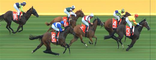 🏆🏆🏆🏆🏆🏆Sandown Race 3 No.3 Hawkshot @ $4.20 (1.5 UNITS WIN)   Result :  1st  at SP $4.40, Best Tote $4.50, Betfair $4.60. Over raced badly but coming from midfield got a gap in the straight and burst through to take victory despite doing a bit wrong. Outcome +6.30 Units  Sandown Race 3 No.5 Fabians Spirit @ $8 (0.72 UNIT WIN)   Result : Unplaced at SP $5.00. Always at the tail of the field. Outcome -0.72 Units.