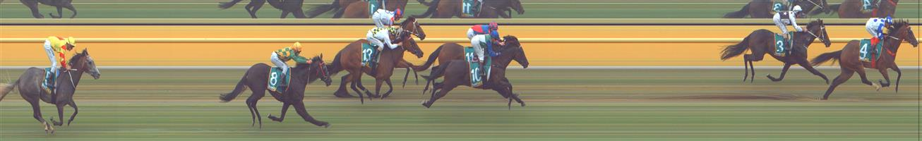 🏆🏆🏆🏆🏆 ARARAT Race 4 No. 4 Camp View @ $3.60 (1.5 UNITS WIN)   Result :  1st  at SP $2.80, Best Tote $2.80, Betfair $2.81. Coming from midfield, got off the rails on the turn and quickly moved up to the leaders and going away with it in the final 100m to score by about a length. Impressive run. Outcome +5.40 Units  ARARAT Race 4 No. 5 Reliansive @ $6.50 (0.91 UNIT WIN)   Result : Unplaced at SP $6.00. Always out the back and finished about ten lengths from the winner. Outcome -0.91 Units.
