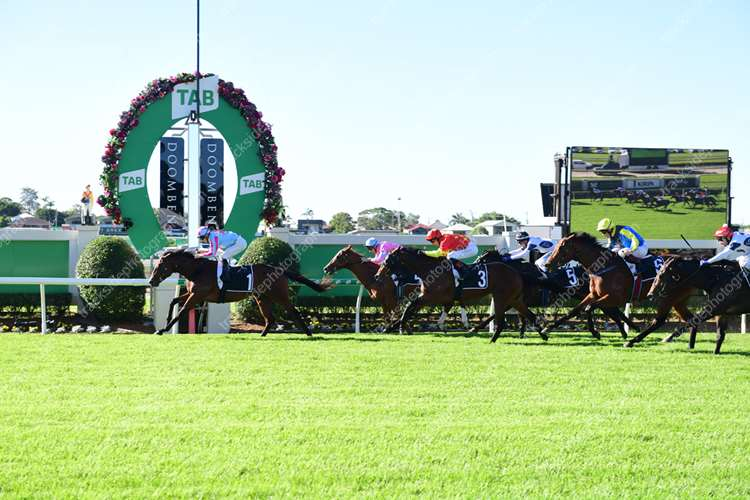 🏆🏆🏆🏆🏆🏆Doomben Race 6 No.1 Dubious @ $4.80 (1.32 UNIT WIN)    Result :  1st  at SP $2.80, Best Tote $2.90, Betfair $2.77. Coming from midfield, tightened for room early in the straight but cleared up from the 200m mark to explode out and score by over length on the line. Outcome +5.75 Units (after deductions)