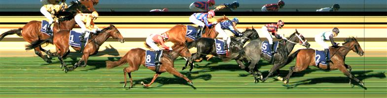 FLEMINGTON Race 1 No. 1 Three Legs In @ $8 (0.72 UNIT WIN)   Result : Unplaced at SP $4.80. Settled in fourth and in the straight had clean room but was no match for the leader and tired late to finish towards the tail. Outcome -0.72 Units.