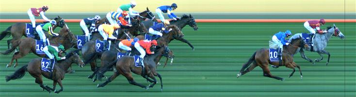 FLEMINGTON Race 8 No. 12 Villermont @ $26+   Result : Unplaced at SP $19.00. Settled midfield, suffered a check half way up the straight but picked up again to hit the line well but finished in the last part of the field. Outcome -0.20 Units.   IMAGE NOT AVAILABLE   EAGLE FARM Race 9 No. 14 Sopressa @ $23+   Result : Unplaced at SP $41.00. Eventually settled in a share of second on the rails. Hit the lead on the turn and held it until about the 100m mark but dropped out to finish in seventh. Outcome -0.23 Units.