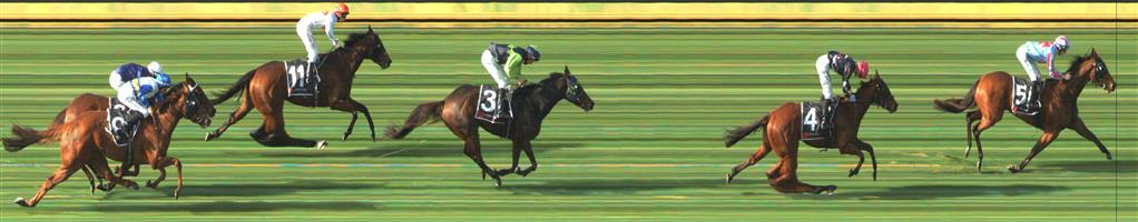 SANDOWN HILLSIDE Race 2 No. 4 Wealthy Wolf @ $6   Result : 2nd at SP $8.00. Coming from towards the tail of the field, ran on very well though unfortunately had too much ground to make up. Outcome -1.00 Unit.  🏆🏆🏆🏆🏆🏆SANDOWN HILLSIDE Race 2 No. 5 Dunmam @ $5.50  Result: 1st at SP $4.00, Best Tote $4.10, Betfair $4.35. Settled in third, one back, one off the rails. Hard ridden from the turn though Dunmam responded nicely to take out victory but about a length. Outcome +6.11 Units.   Note: Quinella paid $17.80 and Exacta $32.80 (both mid totes).
