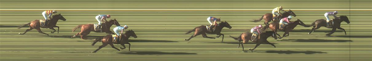 WARRNAMBOOL Race 5 No. 7 Bit Of A Lad @ $4.60   Result : Unplaced at SP $3.00. Settled at the tail of the field and was too far back to make an impact on the winners despite finishing well. Outcome -1.39 Units.  WARRNAMBOOL Race 5 No. 10 Newbury @ $15   Result : Unplaced at SP $15.00. Lead but weakened out badly with about 400m to go to finish towards the tail of the field. Outcome -0.36 Units.