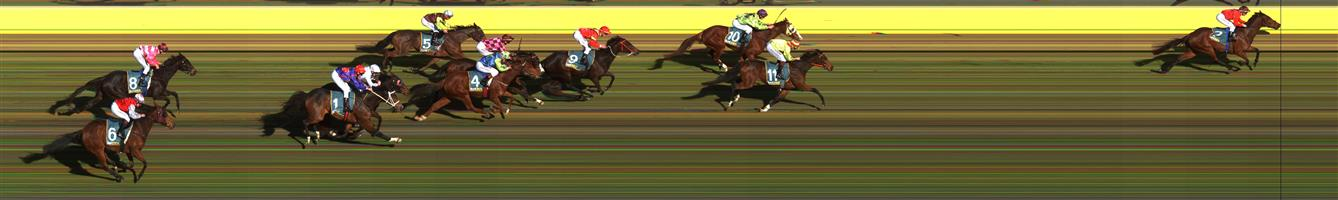 🏆🏆DONALD Race 4 No. 7 Taksu   Result : 1st at SP $1.45, Best Tote $1.60, Betfair $1.49. Lead from start to finish, kicked at the 300m and from then on was in no danger of losing. Outcome +2.18 Units.