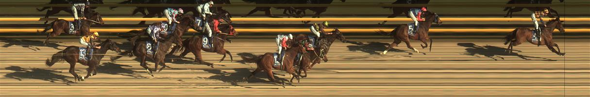 BALLARAT SYNTHET Race 3 No. 10 Soldierofthebrave   Result : Unplaced at SP $3.00. Pushed forward at the start to have a share of the lead. From the turn was under pressure but dropped away in final 200m to finish towards the tail of the field. Outcome -1.50 Units.