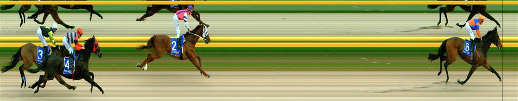 🏆🏆🏆🏆 BALLARAT SYNTHET Race 2 No. 6 Zancada  Result : 1st at SP $2.05, Best Tote $2.50, Betfair $2.18. Settled in second though with low speed in the race, took the lead on the turn, got out to a one length lead and from there was never headed and won comfortably. Outcome +3.75 Units