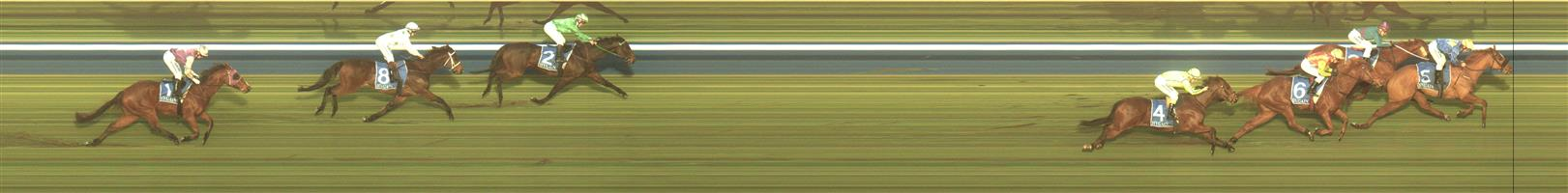 CASTERTON Race 6 No. 4 French Fizz  Result : 4th at SP $3.70. After settling in third, behind the leaders, moved off the fence on the home turn and while ran home respectably was always a length or so behind the leaders. Outcome -1.50 Units.