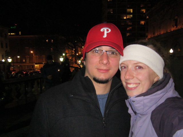 Me and Todd in 2011