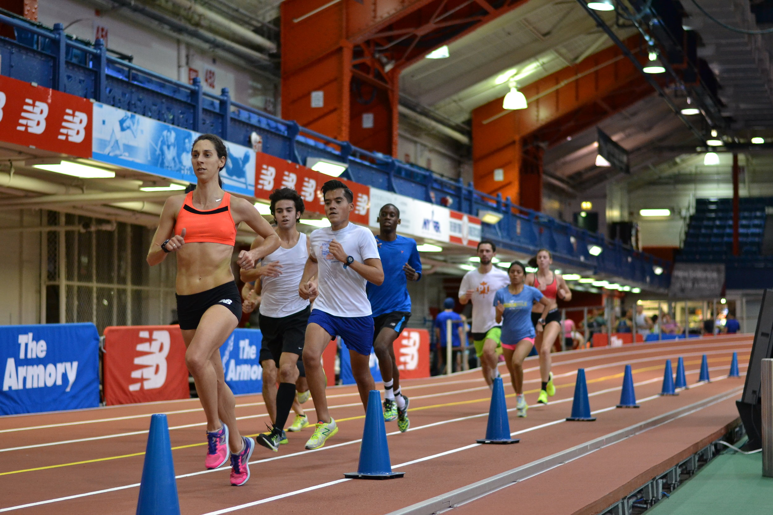 Get out of the cold and join us on the fastest track in the world 5 days a week every indoor season.