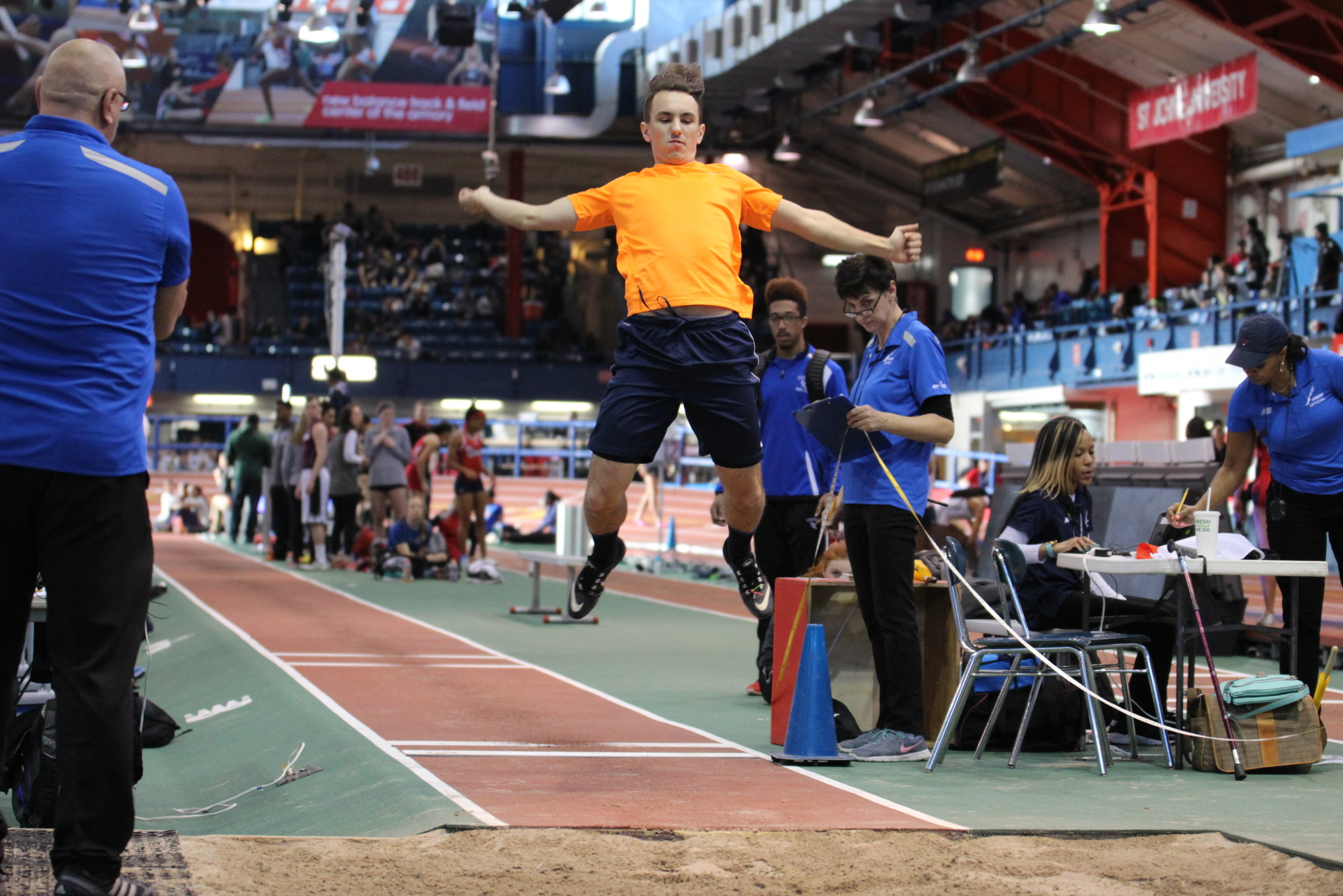 Armory Track Long Jump
