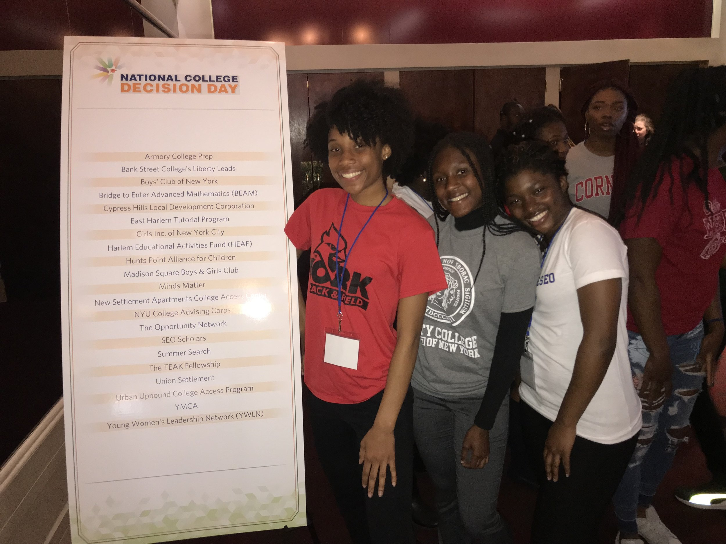 - National College Decision Day at the Apollo Theater