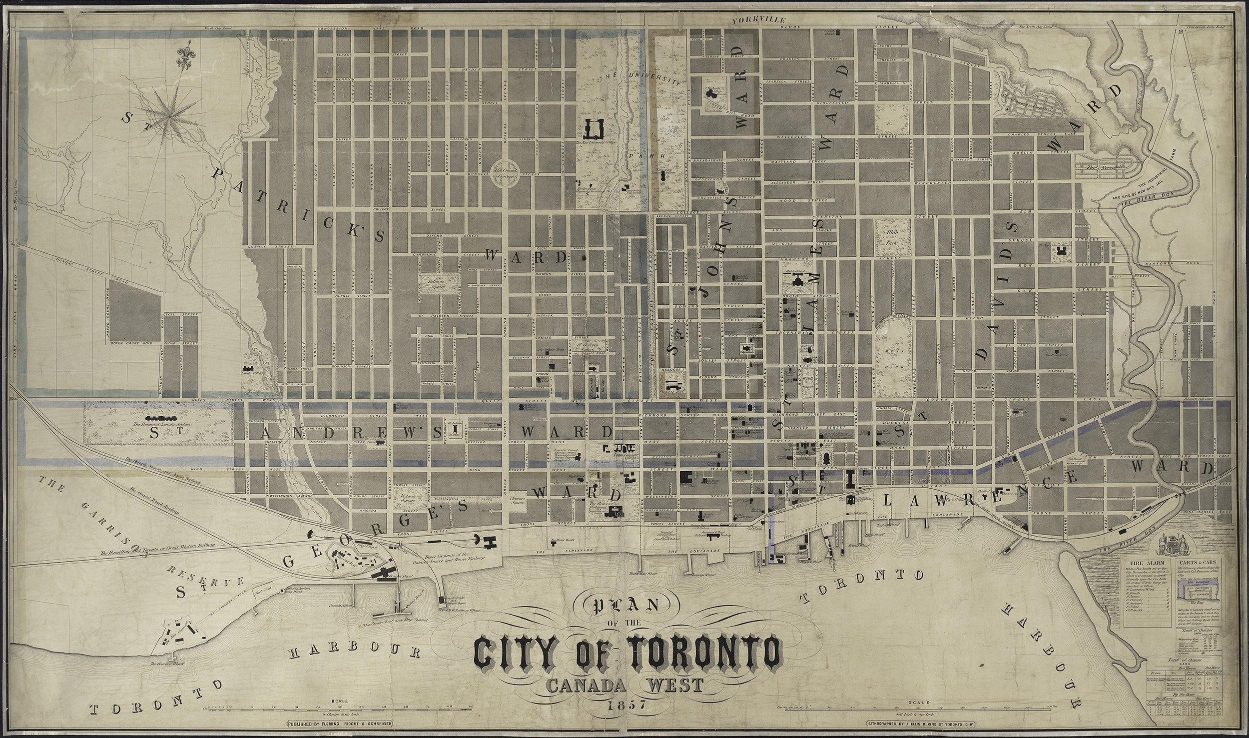 Toronto with Wards 1850s.jpg