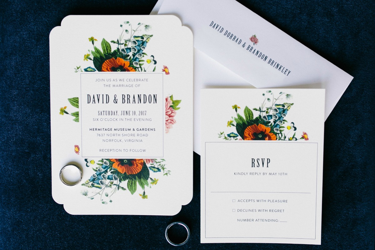 Minted Garden Party Wedding Invitation Inspiration