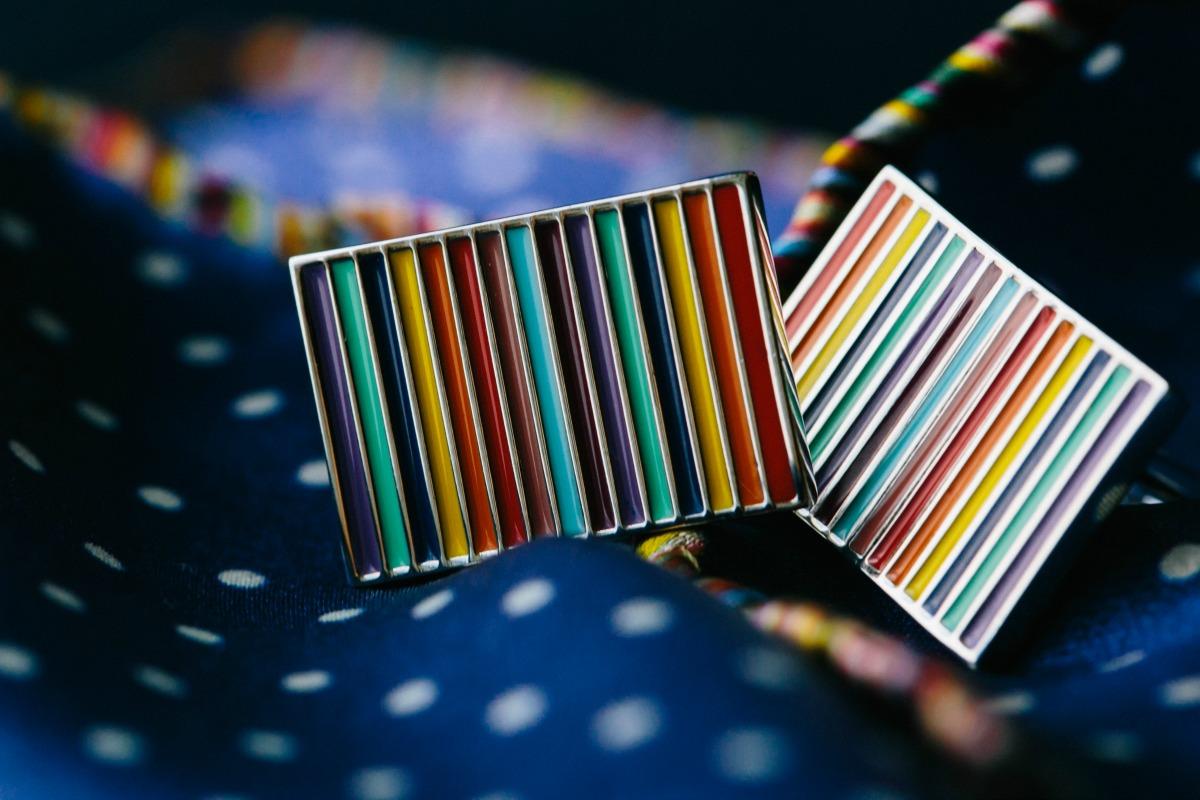 Pride Wedding / Rainbow Cuff Links