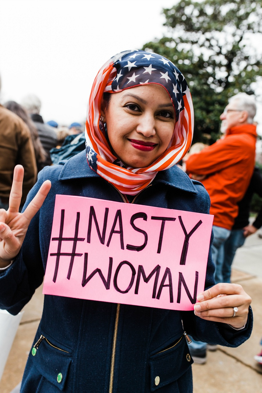 Nasty Woman & Women's March Photography