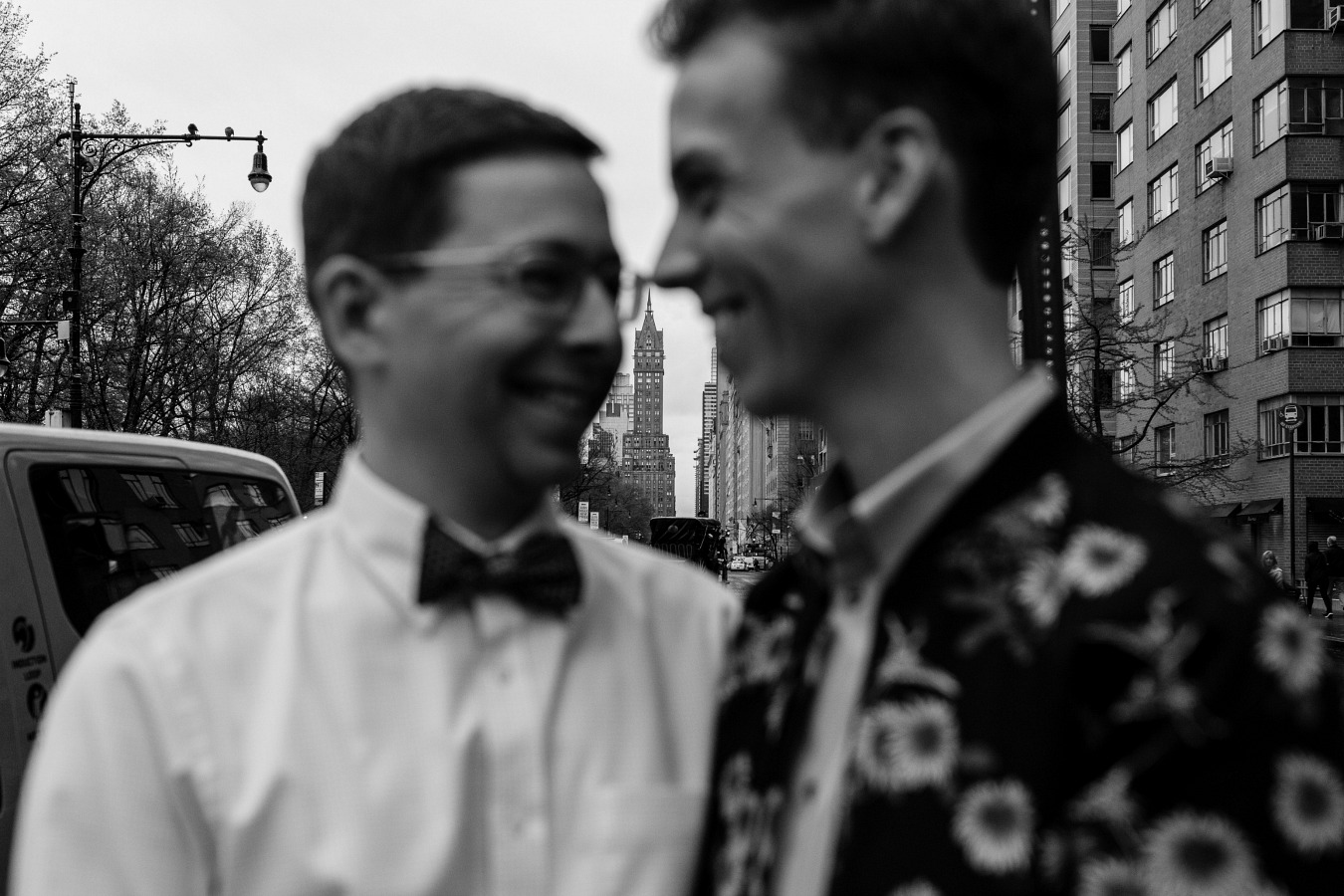 Classic New York City Gay Engagement Session