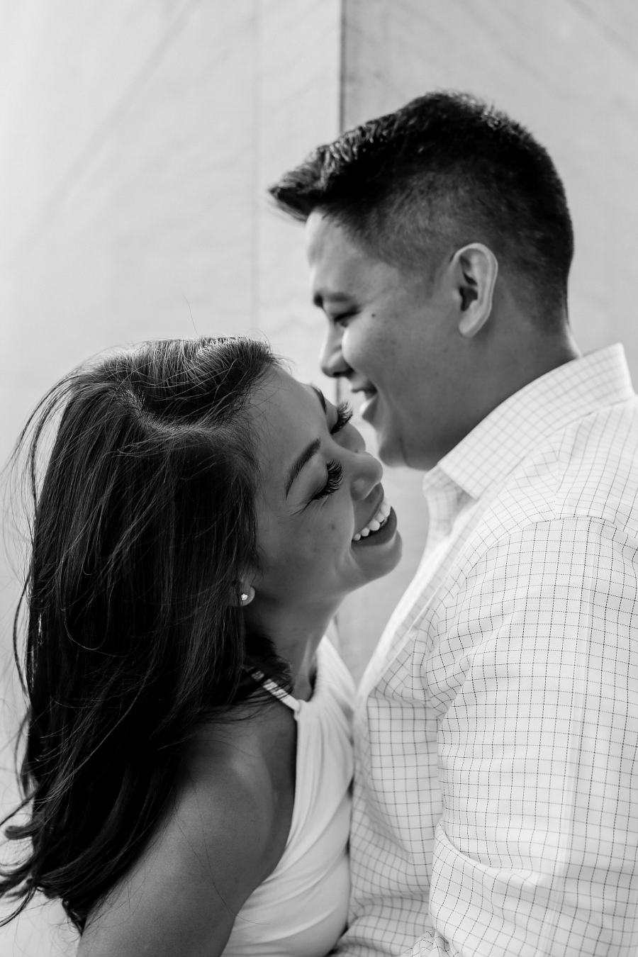 Cool Engagement Session in Washington DC
