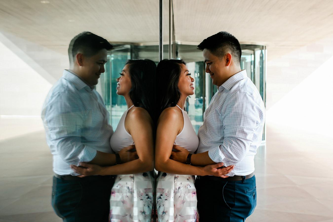 Unique Engagement Photos for Brides & Grooms