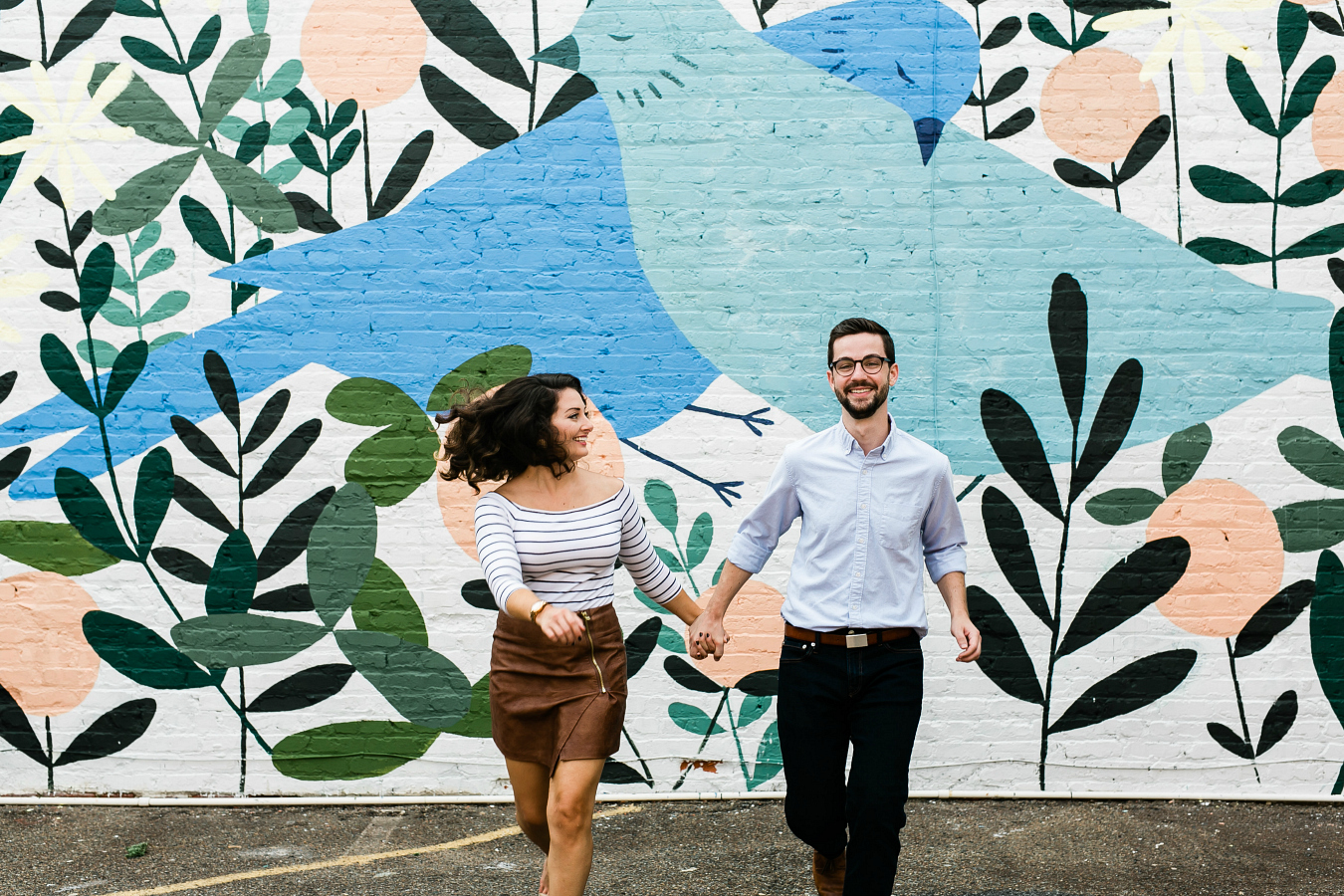 Movement in Engagement Photos