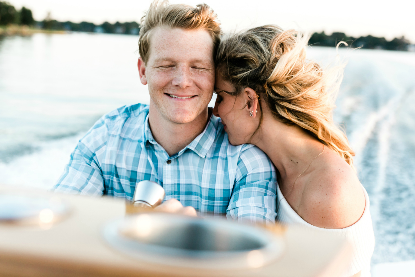 Lifestyle Engagement Session on Boat in Norfolk, Virginia
