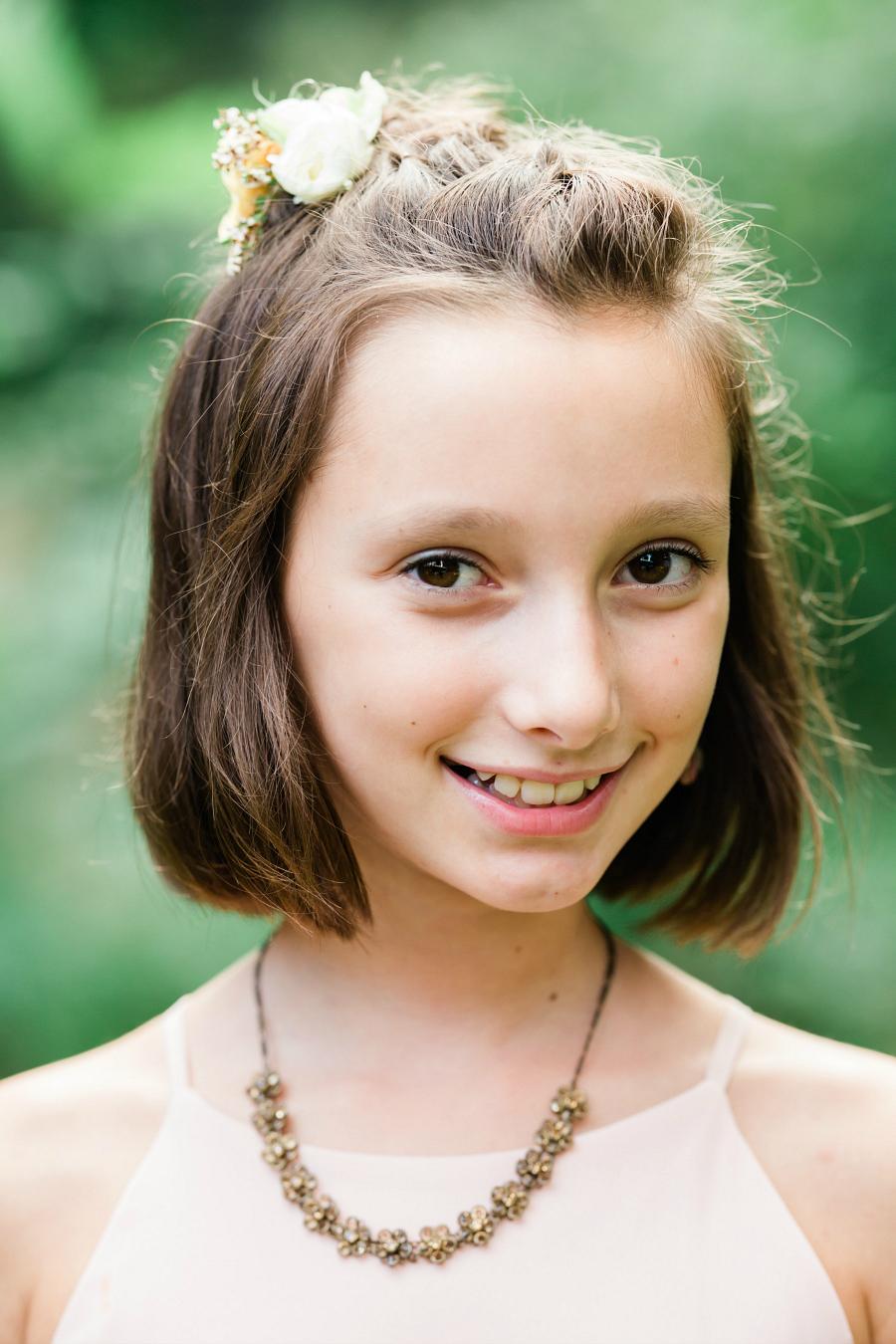 Junior Bridesmaid & Groom's Daughter