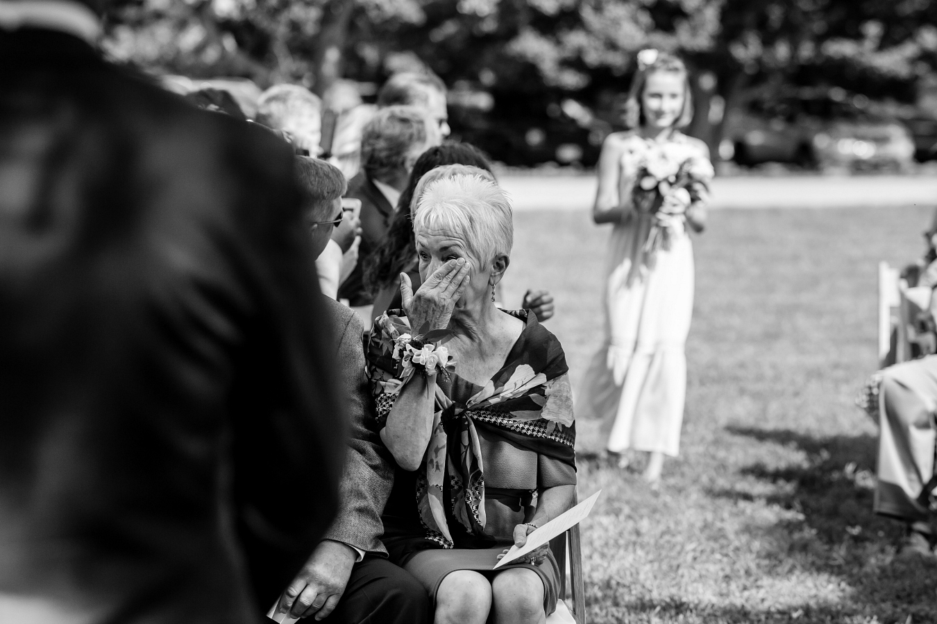Emotional Mother of the Groom Wedding Photos
