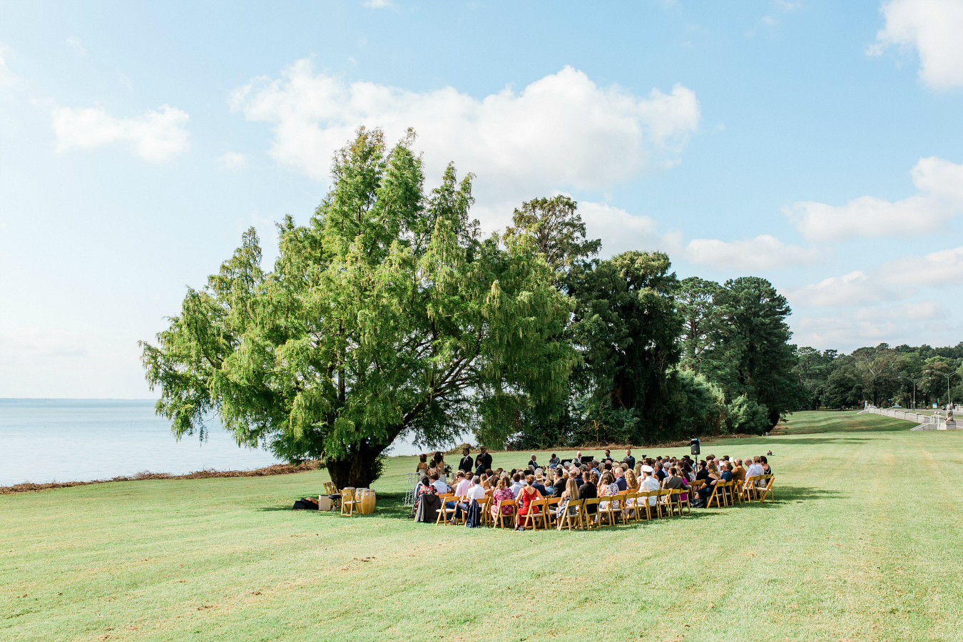 Simple Wedding Day Ceremony Spaces