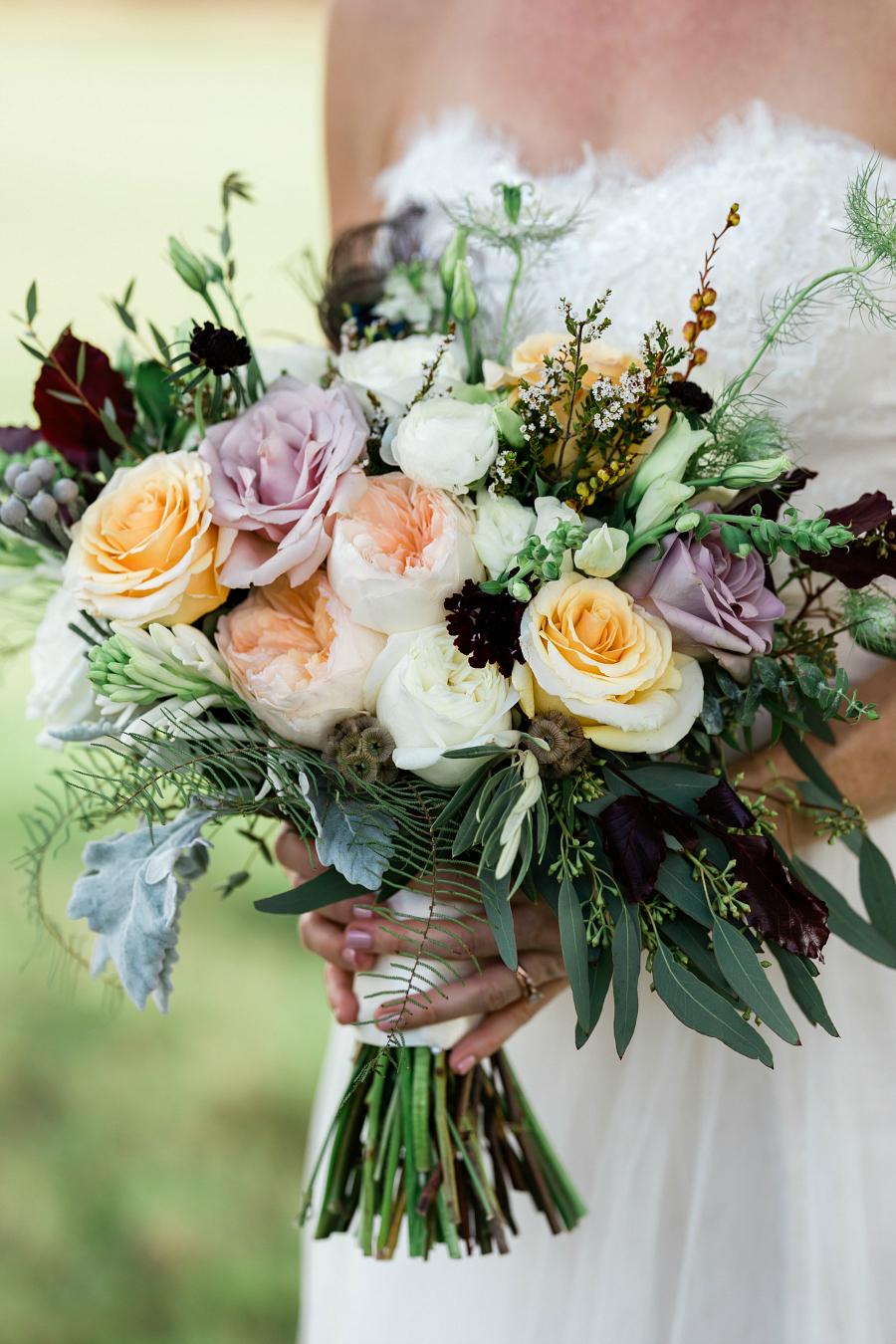 Pretty Bride's Bouquet Inspiration