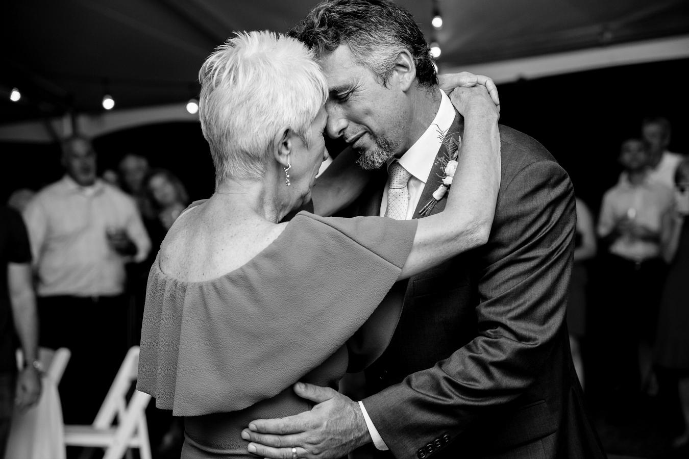 Mother and Son Wedding Dance Photos