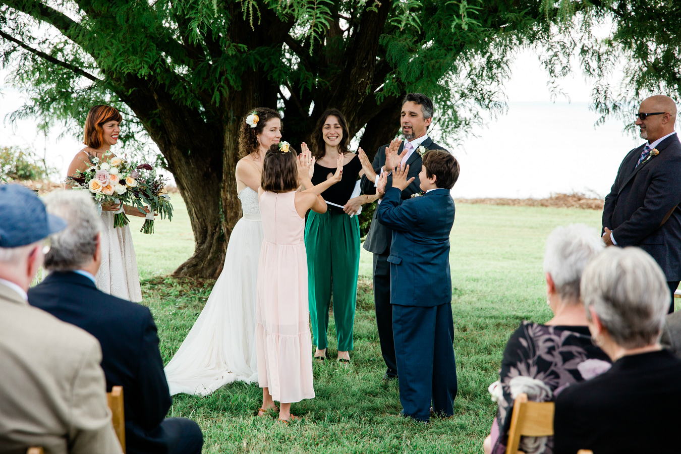Family Handshake : How to Include Children in Blended Family Wedding