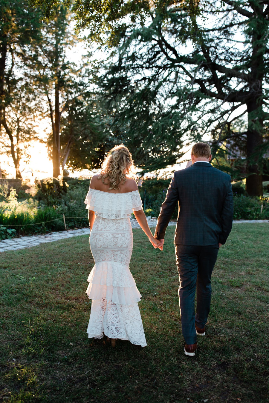 Sunsets on the River Wedding Photos