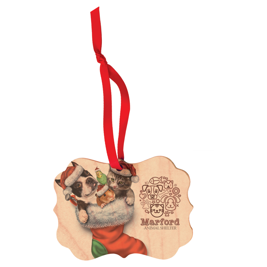 Wood Ornaments -