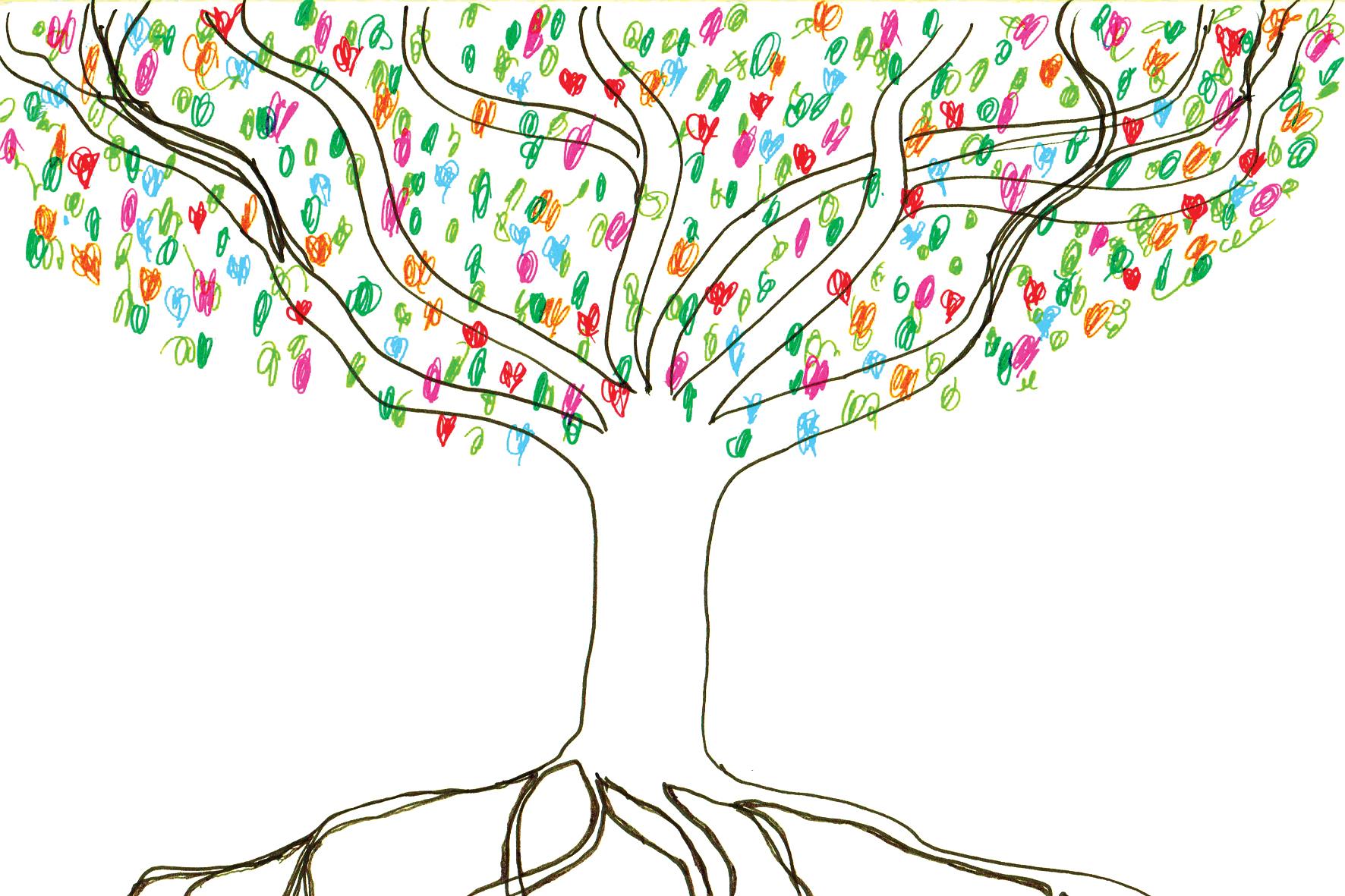 The Friendship Tree - Illustration Luke Hockley