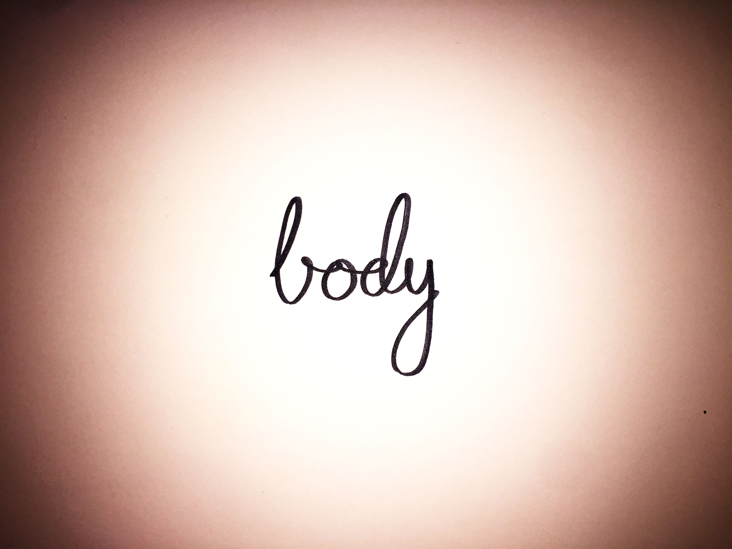 Body. Drawing Luke Hockley.