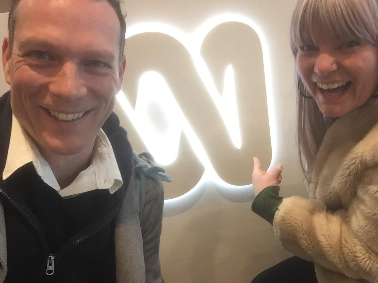 Maree_and_Luke_at_Radio_National_Interview