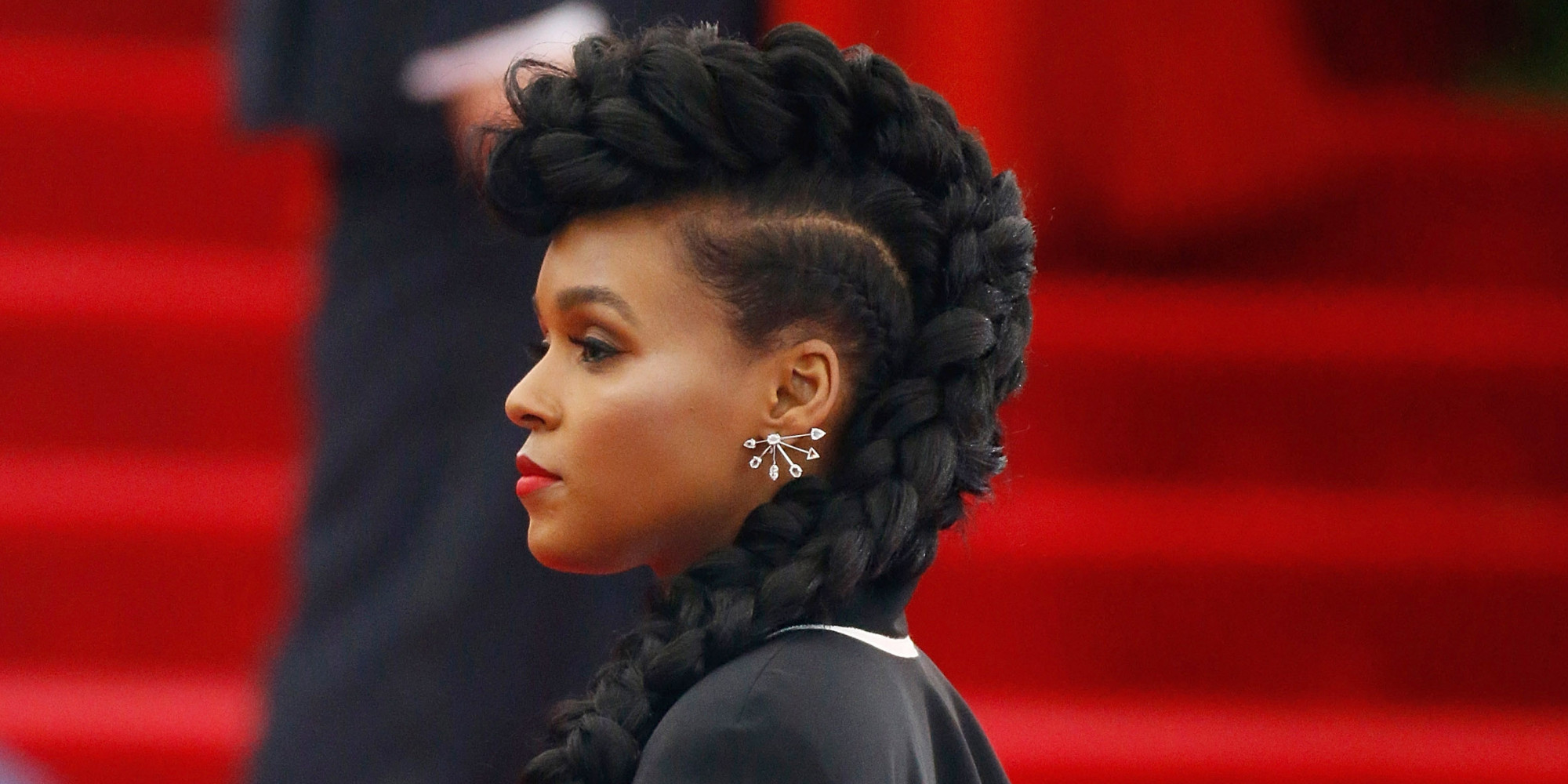 Janelle Monae has long been a source for hair inspiration, and the braided mohawk is no exception. Courtesy photo